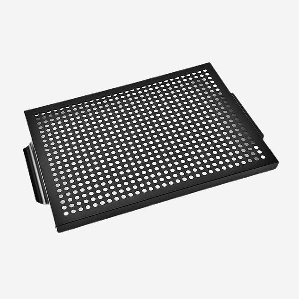Nonstick Grill Pan Rectangle Barbecue Vegetable Bakset Cooking Tray BBQ Plate for Outdoor Camping Picnic Trend