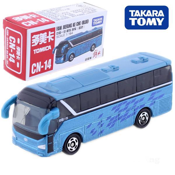 Japanese TOMICA  FAW JIEFANG KE CHE Bus Japan Child Toy