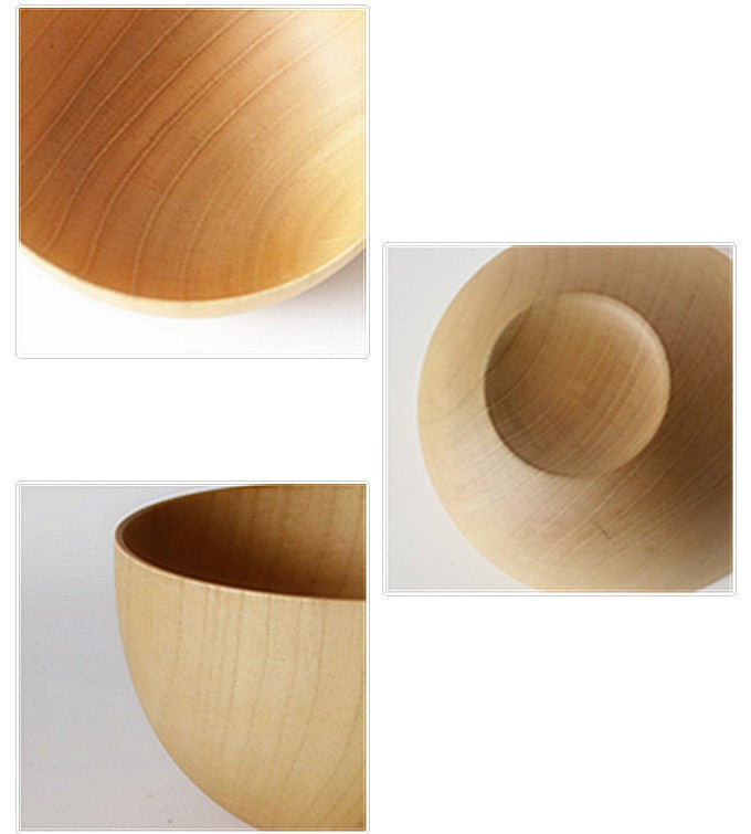 Japanese Original Natural Wooden Jujube Bowls Japan Wood Jujube Bowl Style C