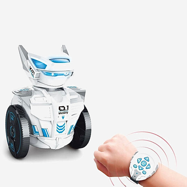 RC Robot Toy with Remote Control Watch   Intelligent Toy Robot With Singing Dancing Music Trend
