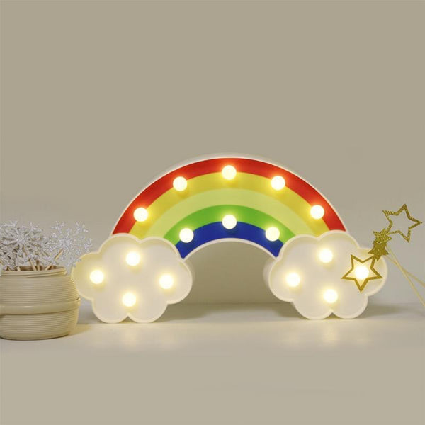 Rainbow Night Light Wall Lamps Trend Home Decoration