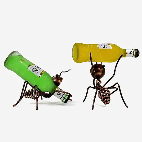 Little Ant Wine Rack       Creative Cocktail Decoration Dining Table Wine Cabinet Bar Counter Interior Decorations Trend