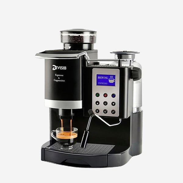 All-in-One Espresso Coffee Maker Automatic Americano China Tea Cappuccino Cafetera Espresso Machine Kitchen Appliance