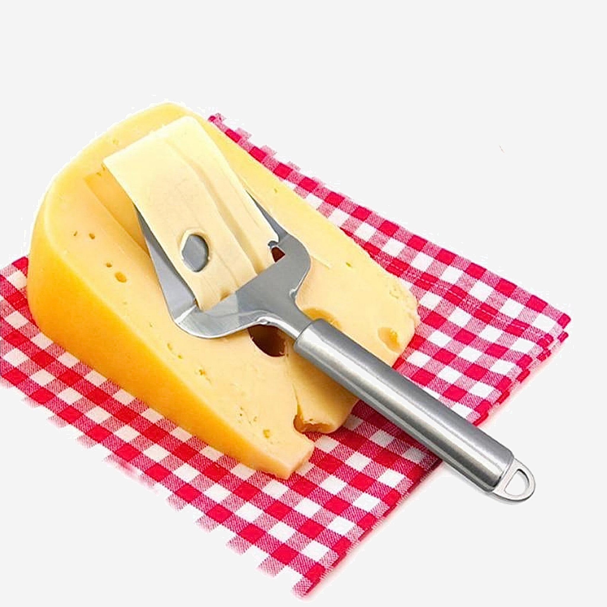 Stainless Steel Cheese Plane   Cheese Slicer Grater for Semi Hard and Hard Cheesees Pizza Server Trend