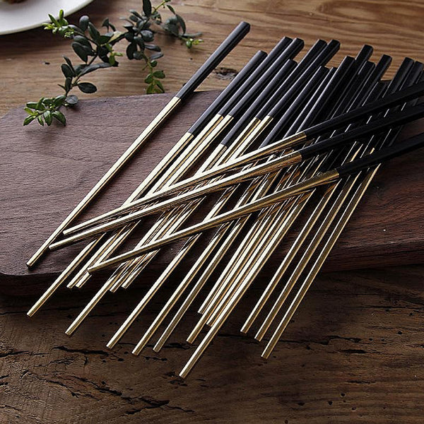 Korean Stainless Steel Chopsticks Sets Trend