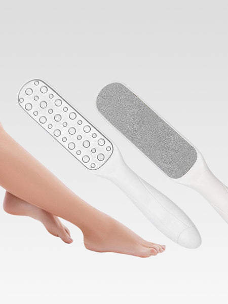 Pedicure Scrubber   Stainless steel dead skin remover Rasp dual sided for exfoliation Removes hard skin Trend