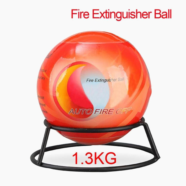 Automatic Dry Powder Fire Extinguisher Ball Fire Suppression Device For Car House 15 Diameter 1.3KG Fire Ball Trend