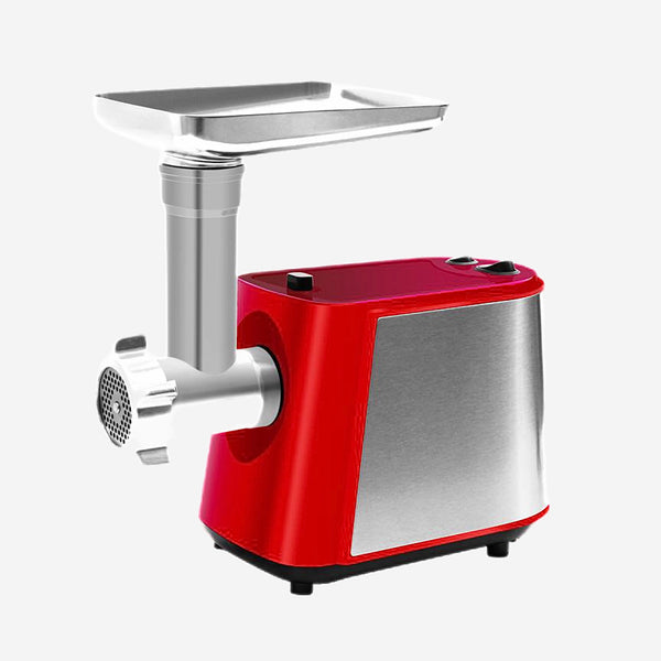 4 in 1 Electric 2200W Powerful Red Meat Grinder Sausage Stuffer Meat Mincer Food Processor with Tomato juicer Heavy Duty Kitchen Appliance Trend