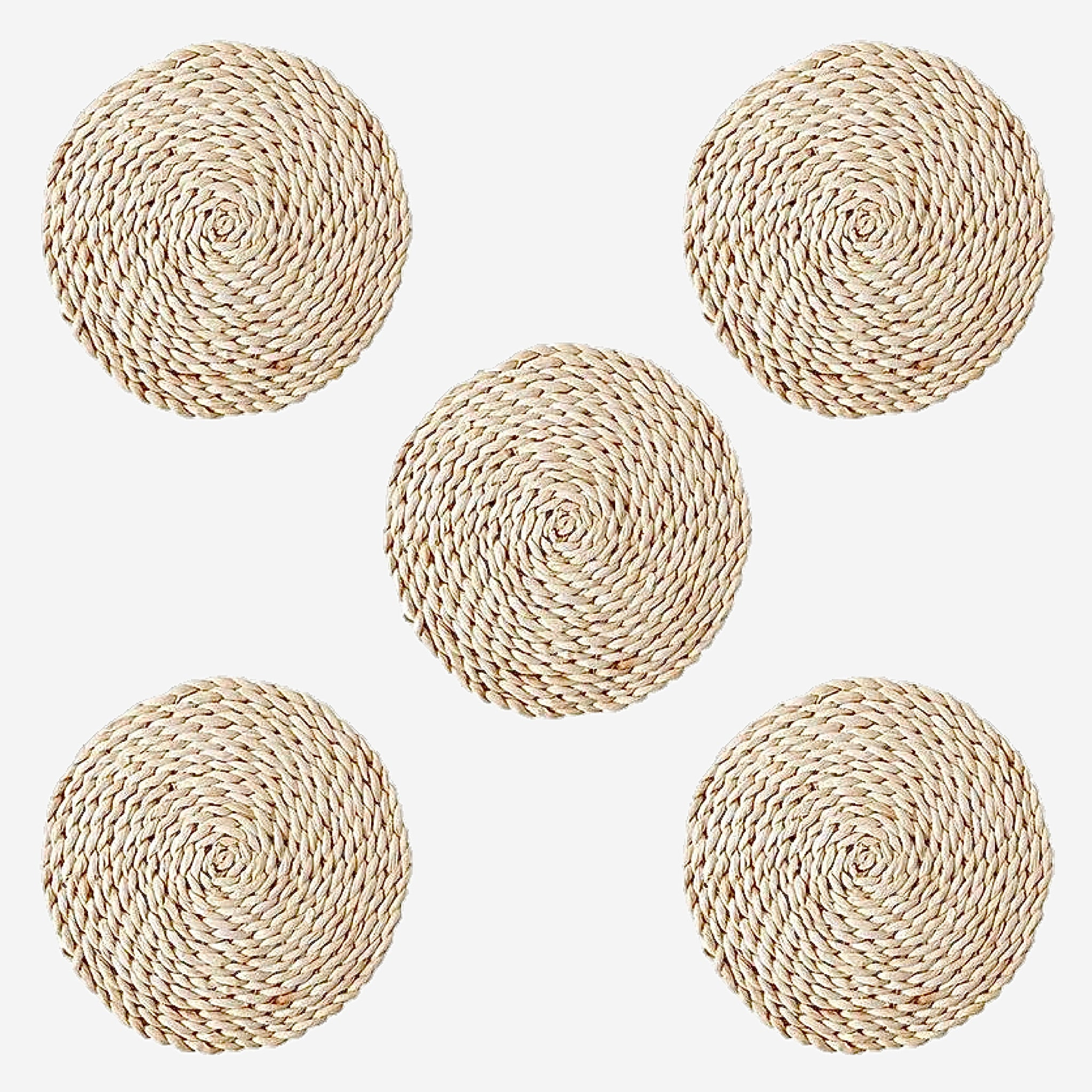 Rattan Placemats Straw Dining Table Mats Trendy