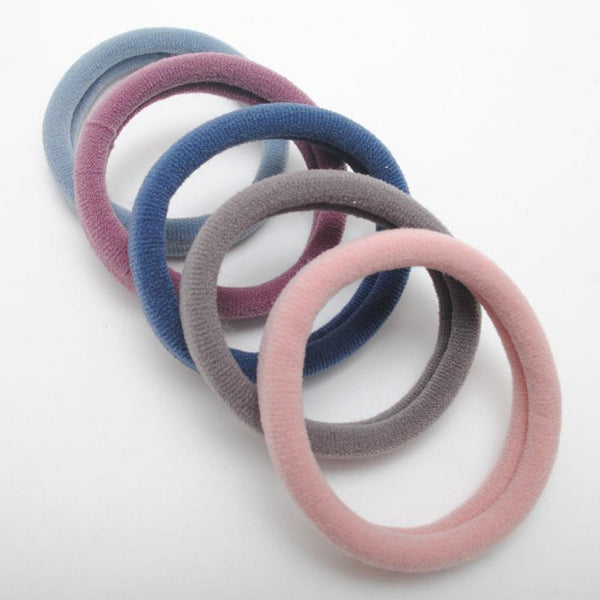 Japanese Multicolor Elastic Hair Bands Women Seamless Ring Strong Multicolour Hair Gum Elasticity Scrunchies Gift Accessories Trend
