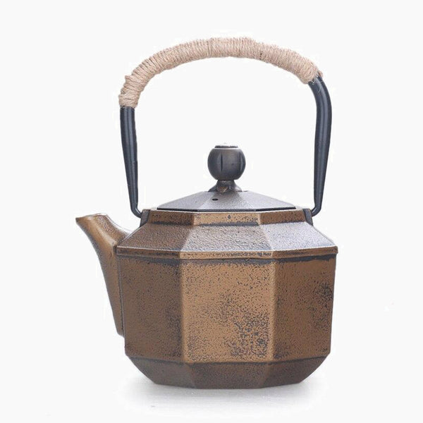 0.85L Japanese old Cast iron Tea Kettle Trend