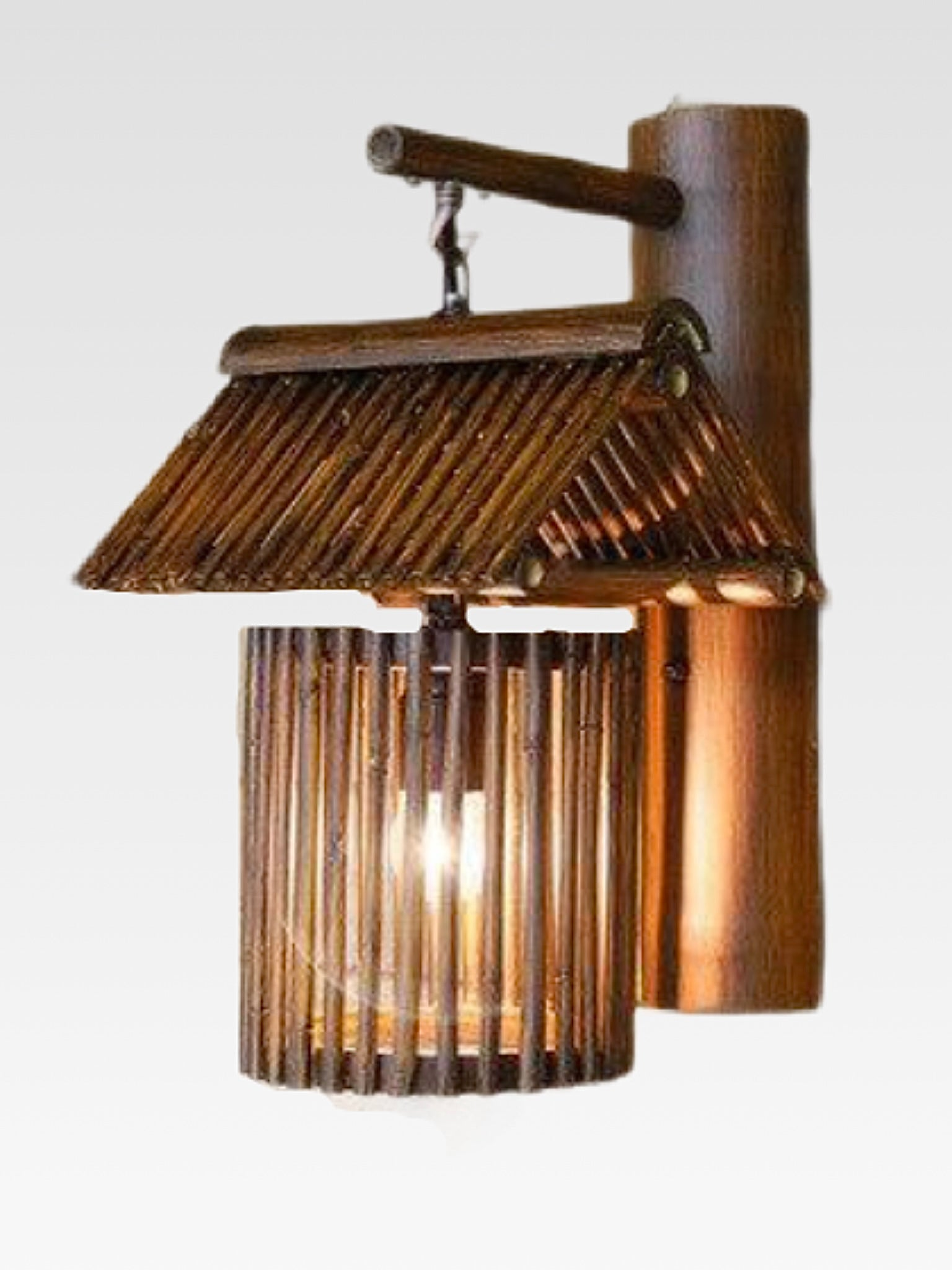 Japanese Bamboo Wall Lamp Trend