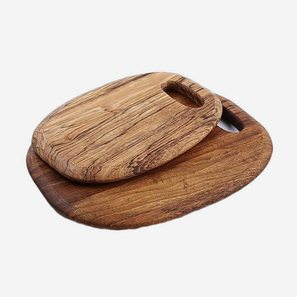 Wood Cutting Board  Solid Wooden Fruit Chopping Board Bread steak cutting Trays Home Kitchen Accessories