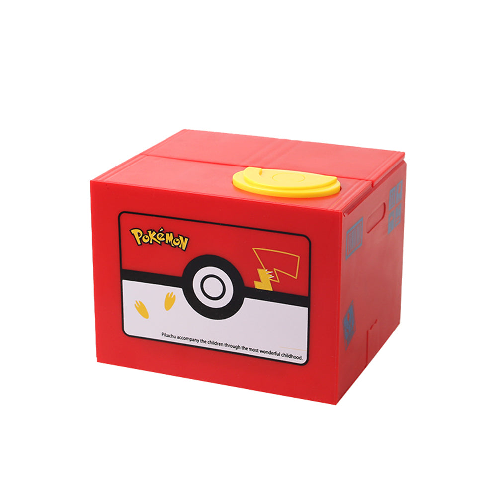 Automatic Pokémon Stealing Coin Piggy Bank Pokemon Money Savings Box Coin Piggy Bank Cash Boxes Stole Coins Child Kids Gift Home Decoration Accessories Style Japanese