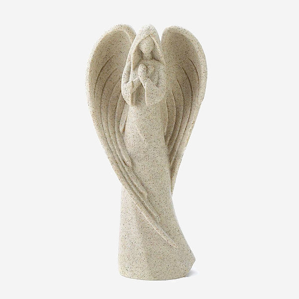 Guardian Angel Sculpture Creative retro prayer angel figurine statue crafts home decor accessories Trend