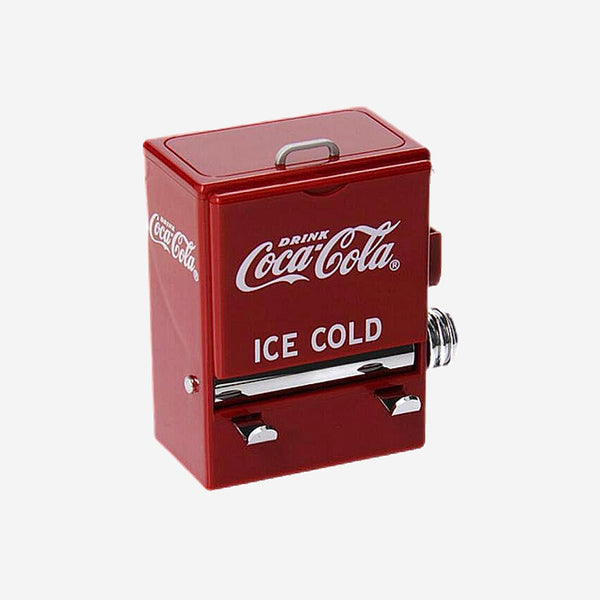 Retro Coca Cola Toothpick Dispenser Box Creative Personality Vending Machine Style Pressing Toothpicks Case Holder Kitchen Ornament Trend