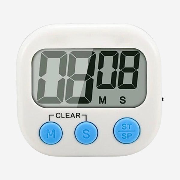 Magnetic Digital Food Timer Kitchen Cooking Multi-function Countdown Electronic Egg Timer with Loud Alarm and Large LCD Display Trend