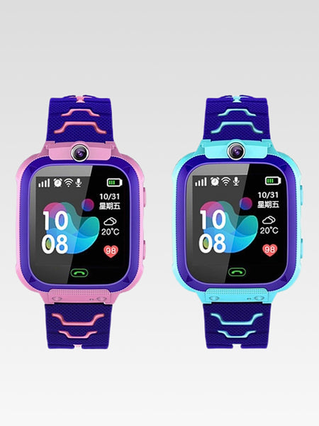 Kids Telephone Watch   High definition smart watches Front camera speech talk five games love reward camera photography function Trend