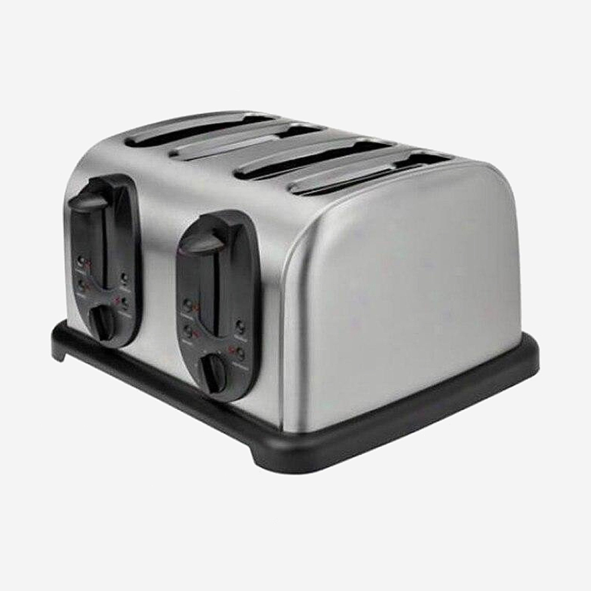 Stainless Steel 4-Slice Toaster    Household bread baking machine kitchen appliance bread toaster oven for breakfast Style