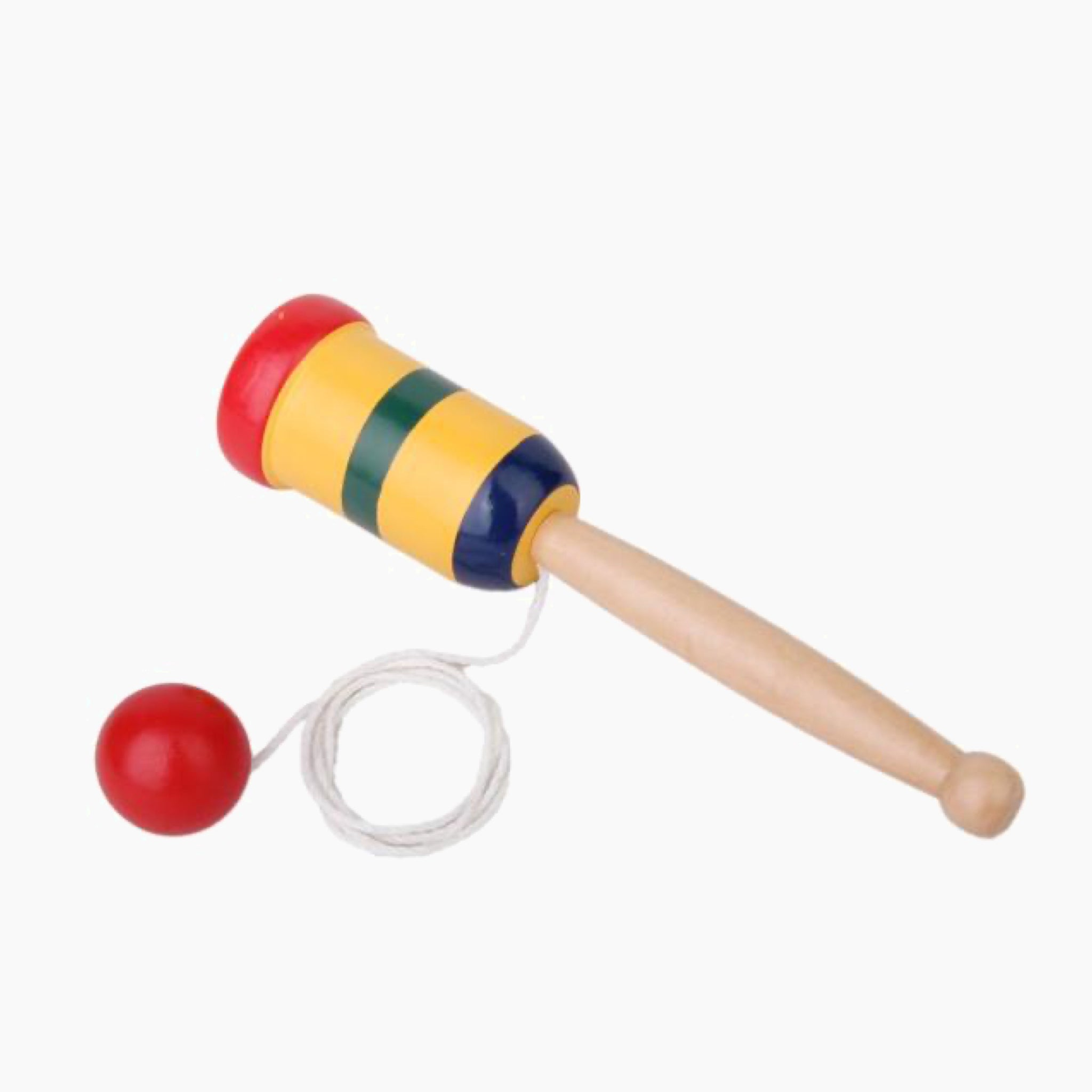 Japanese Wooden Kendama Cup and Ball Toy Japan Rainbow Toys