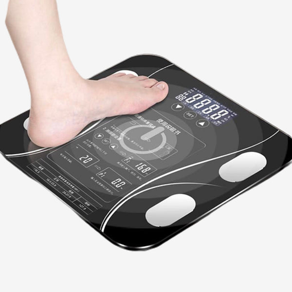 Smart Electronic ​Bath Scales ​  LED Digital Bathroom Body Fat BMI Weighing Balance Household Scale Trend
