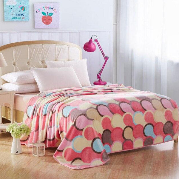 Soft Warm Silhouette People Blanket Throw Plush Thick Fleece Blankets for Sofa Bed Bedroom Home Decor Furnishing Trend