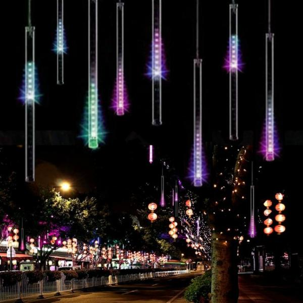 Christmas Lights Outdoor Curtain LED String Lights Decoration