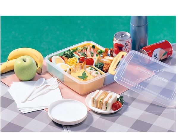 Japan 5 Grid Plastic Kids Bento Lunch Boxes Bento Box Japanese C