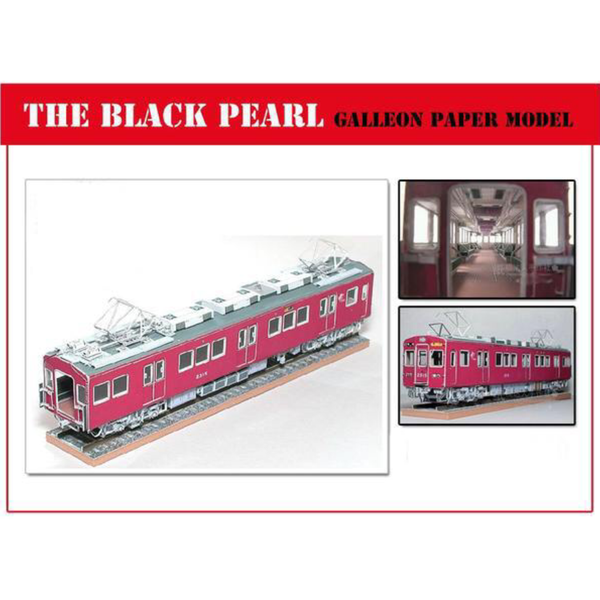 The Black Pearl Japanese JR Hankyu 2300 Electric Train Japan Child Toy Model Train Playtime Model Maker