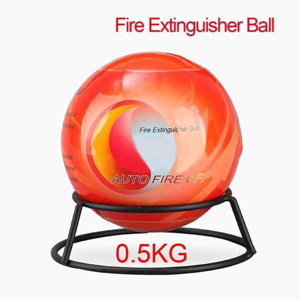 Automatic Fire Extinguisher Ball With Wall Mounting Bracket Fire Suppression Device 11 Diameter 0.5KG Fire Ball Trend