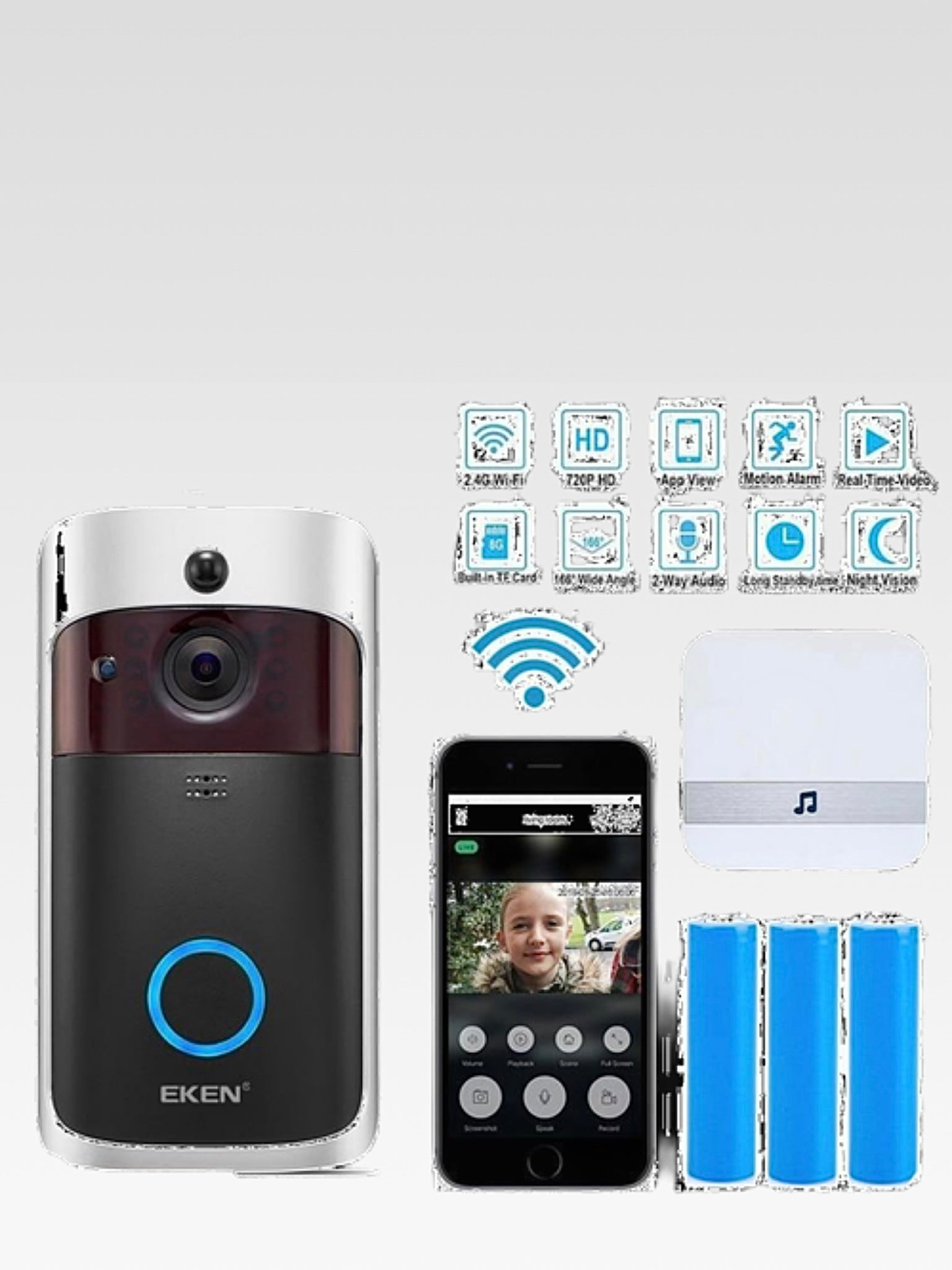 WI-FI Video Door Phone Door Bell Trending
