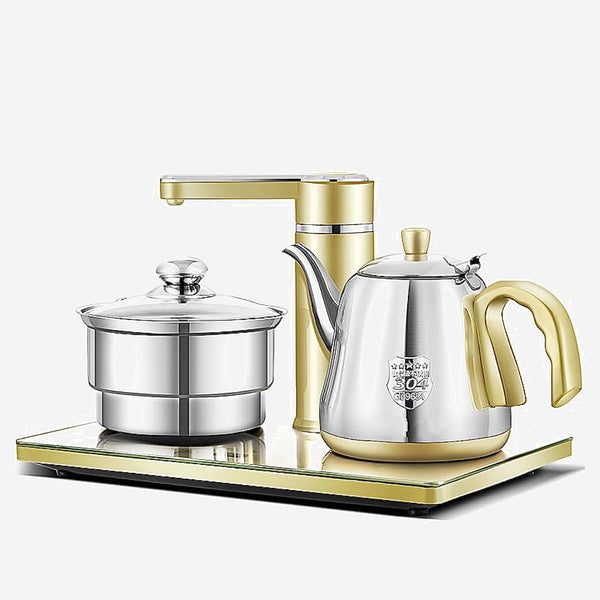 Faucet Teakettle Set Electric kettle Automatic water electric set 304 stainless steel suction Trend