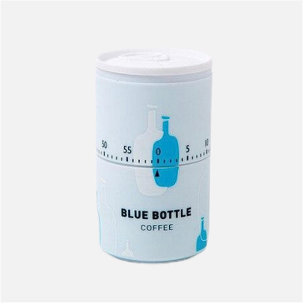 Tin Can Kitchen Timer Tin can shaped BLUE BOTTLE COFFEE Japanese 60 minute countdown alarm clock timers Japan kitchen gadget Trend