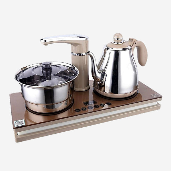 Faucet Teakettle Set Intelligent automatic water electric kettle set power failure of tea stove Trend