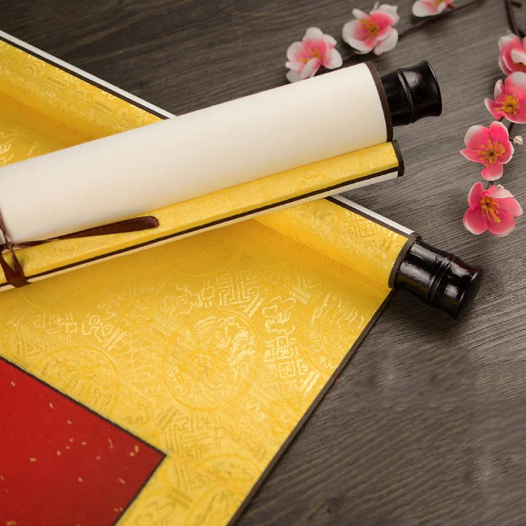 Japanese Rice Paper Scroll blank calligraphy and painting mounted Xuan paper Japan Art Set Painting Supplies Trend