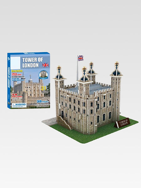 Tower of London 3D Puzzle     World famous building Tower of London United Kingdom architecture model educational toys for kids gifts Trend