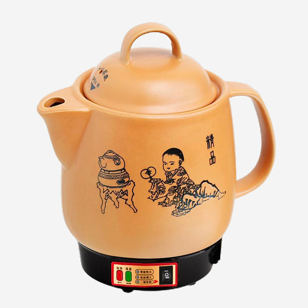 Ceramic Electric Kettle Full automatic decoction of Chinese medicine pot porcelain boiling herbal medic Trend