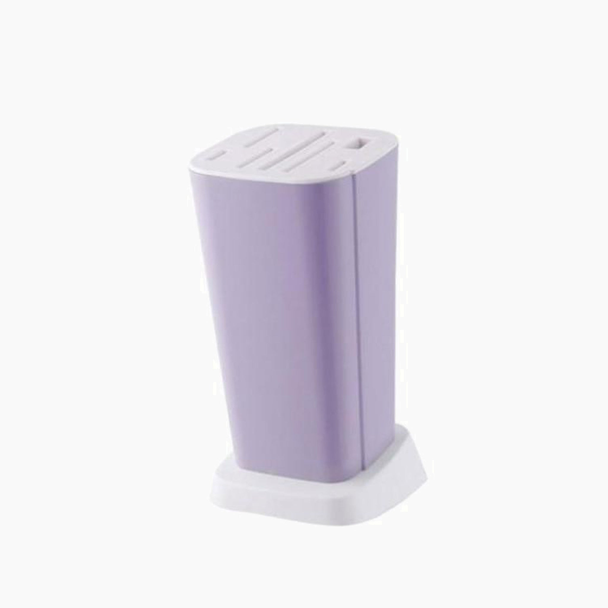 Purple Kitchen Knife Holder Multifunction Plastic Storage Rack Block Stand Mount Stands for Knives Trend