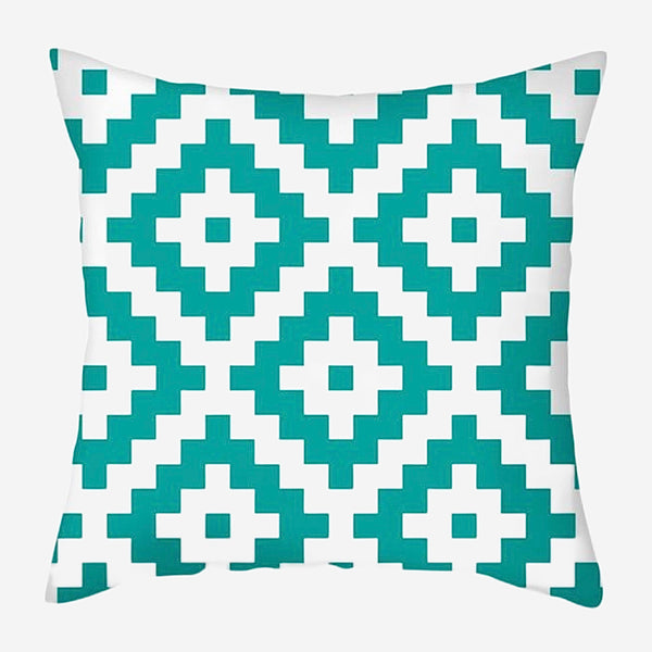 Geometric Cushion Covers Aztec Stripes Print Pillow Case For Home Chair Sofa Decoration Pillowcases Cover 45cm*45cm Trend