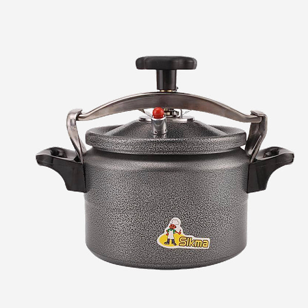 Aluminum Pressure Cooker Black Open Flame Gas Autoclave Tiger Rice Cookers Explosion-proof Household Appliance Trend