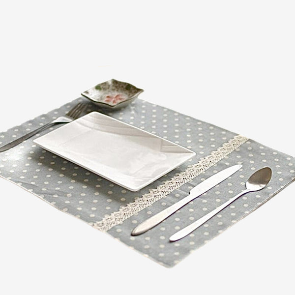 4 Piece Retro Japanese Placemats Trend