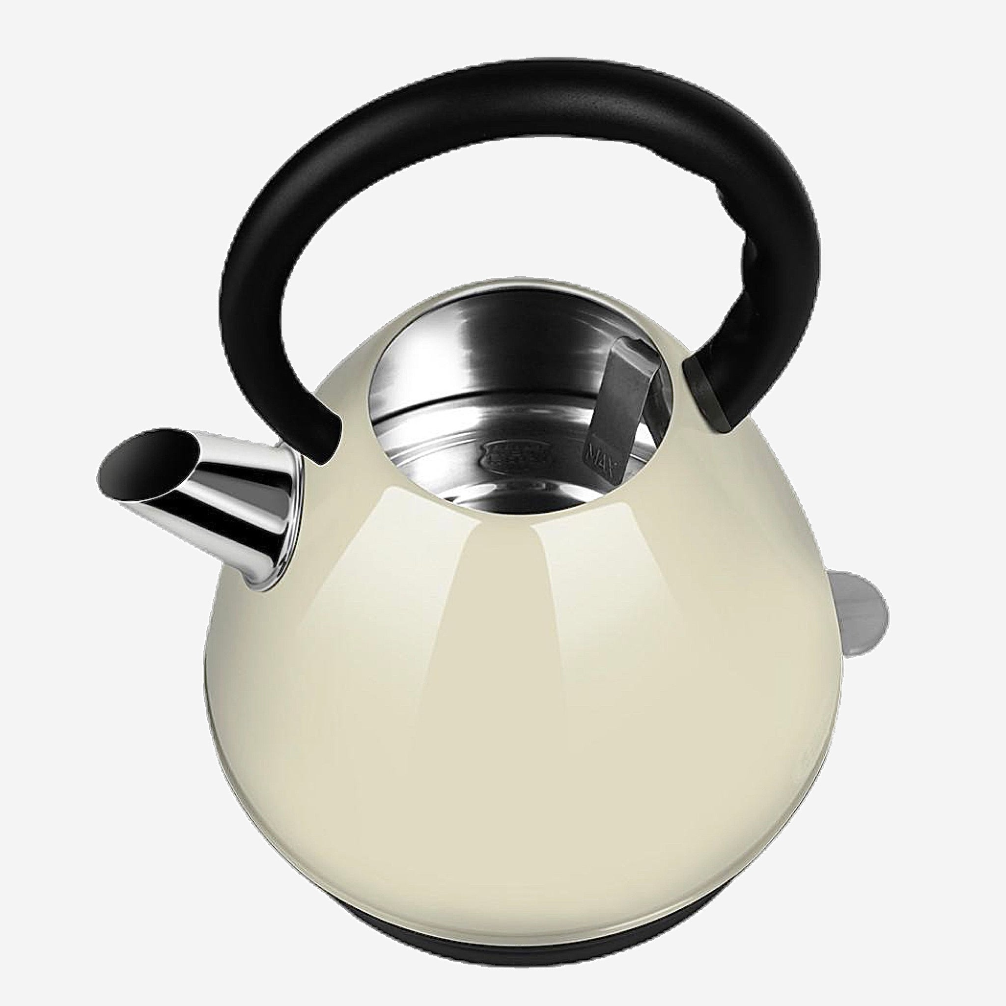 White Stainless Steel Electric Kettle Automatic power supply 2L capacity Household Kitchen Appliance Style