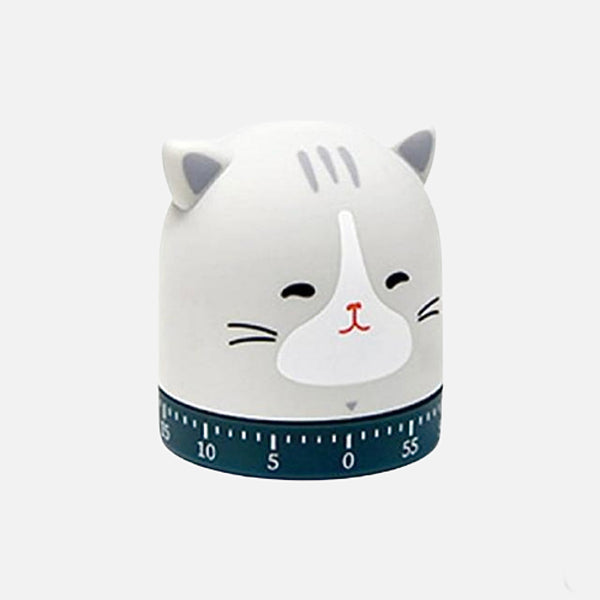 Cat Egg Timer         60 Minute kitty animal cartoon cooking time manager stopwatch Kitchen alarm reminder timers Trend