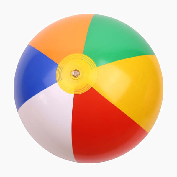 Outdoor Activitie Inflatable Beach Ball PVC Water Balloons Rainbow-Color Balls Summer Beach Swimming Toys For Adults Kids Trend