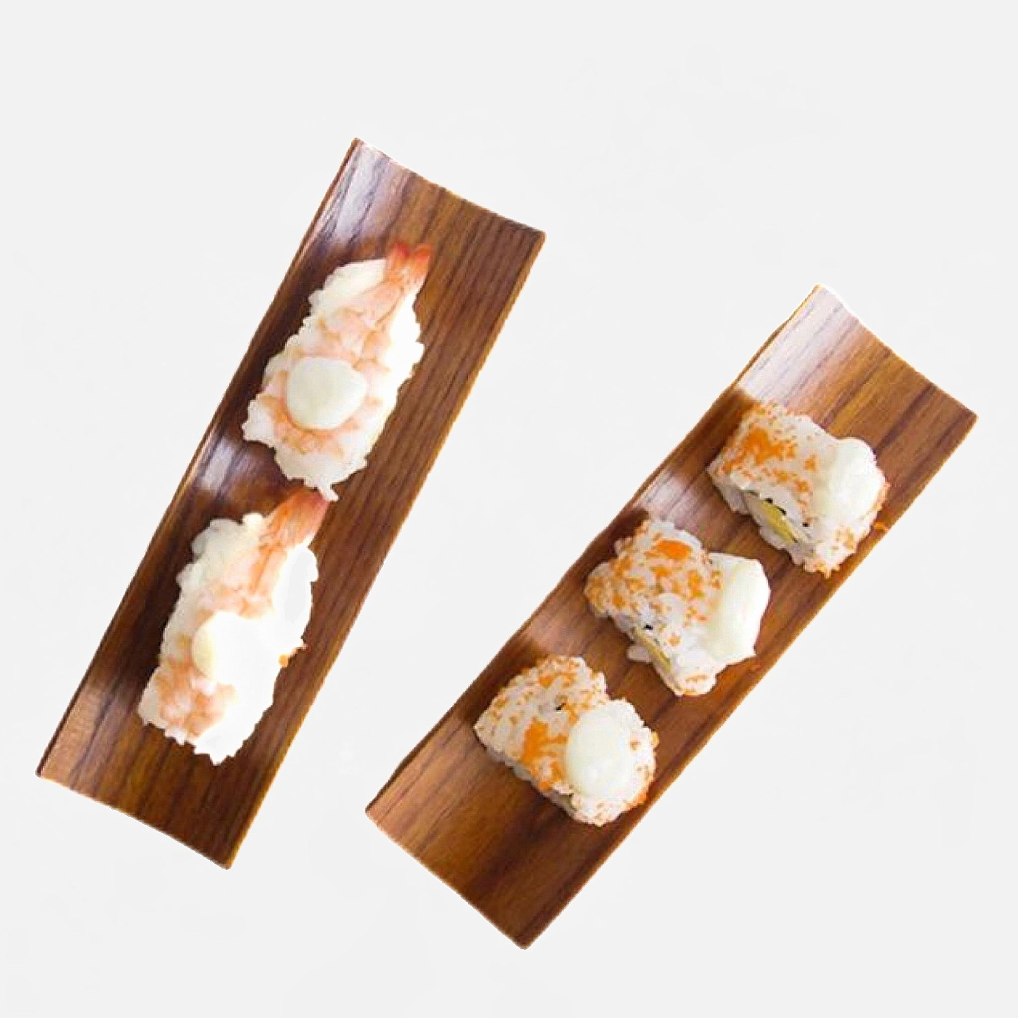 Japanese Wooden Dumplings Sushi Tray Trend