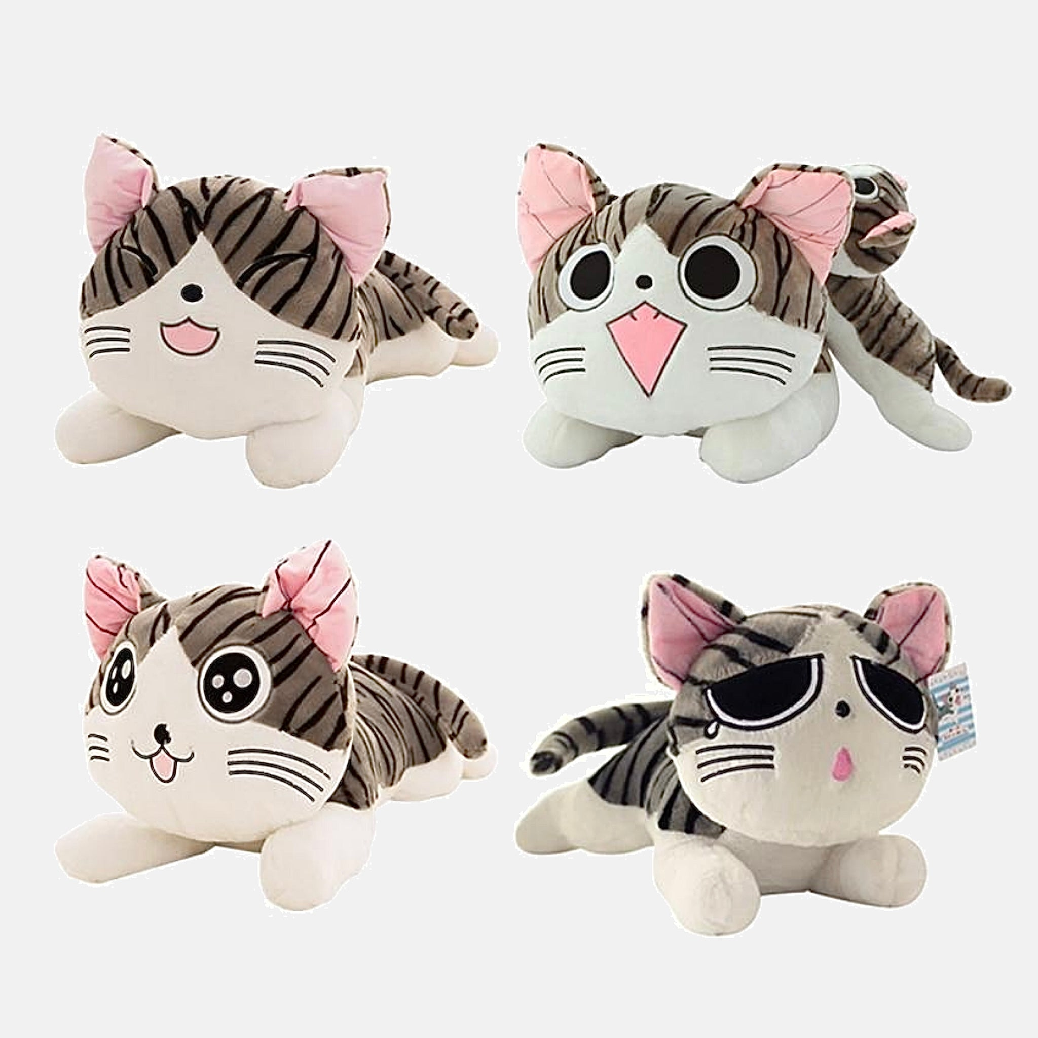 Japanese Anime Cheese Cat Plush Doll Trend