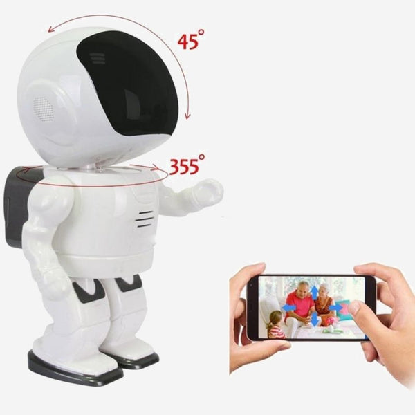 RC Robot Toy with 360 degree HD Camera  WIFI FPV Family Baby Monitor Phone Control family robot toys Trend
