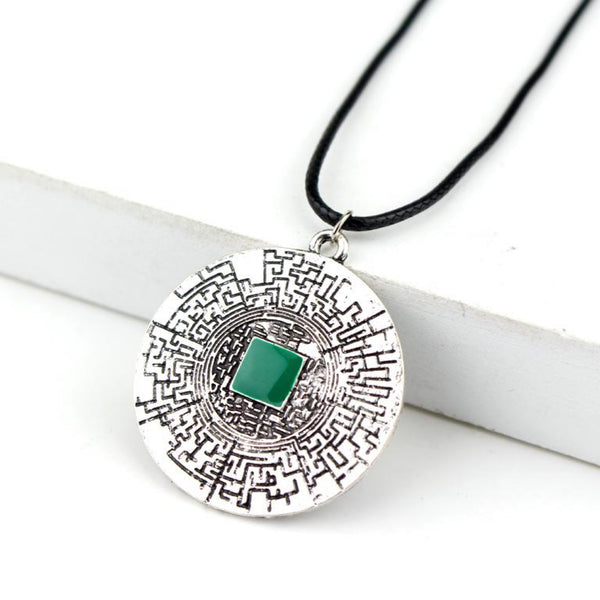 The Maze Runner Labyrinth Pendant Necklace Trend