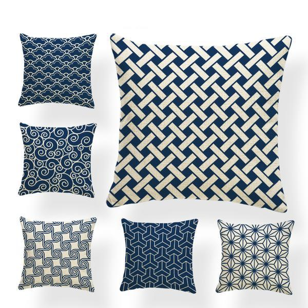 Japanese Traditional Pattern Cushion Covers Japan Pillow Case Covers