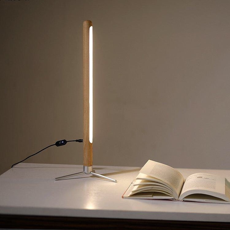 Trending Japanese Minimalist Wooden Table Floor Lamps Fashion Nordic Style